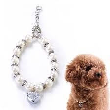 Designer Pet Jewelry Buy Alfie Couture Designer Pet Jewelry Zoe Crystal Heart