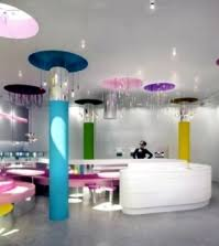 modern design office. Headquarters Of The Modern World-renowned Company With A Cool Design Office O