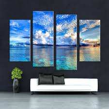 panel wall art space