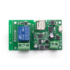 you can the 5v or 12v wireless switch supports inching self locking mode