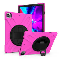 Check out our pink ipad pro selection for the very best in unique or custom, handmade pieces from well you're in luck, because here they come. Ipad Pro 12 9 3rd 4th Gen Case Heavy Duty Drop Protection Shield Armor Case Stand Hand Palm Strap Cover For Apple Ipad 12 9 3rd 4th Generation Hot Pink Walmart Com Walmart Com