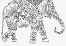 Elephant Mandala Coloring Pages Elegant Get This Easy Preschool