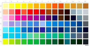 Surprising Pantone Tpx Colour Chart Download Pantone Tpx