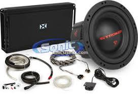 cerwin vega 12 subwoofer nvx jad1200 1 amp kit 1200w cerwin vega stroker nvx bass package