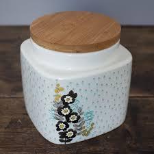 Retro Kitchen Storage Jars Pretty Retro Small Storage Jar Kitchen Storage Shop By Product