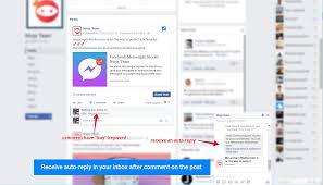 Automatic Respond Facebook Messenger Auto Reply Ninja Team