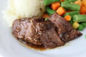 slow cooker beef pot roast with gravy