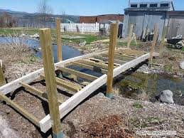how to build a garden. Picture Of Pond Bridge - How To Build A Garden Or Arched Footbridge