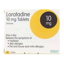 Loratadine Dust Mite, Pet Allergy, Itchy Skin & Hayfever Tablets 30 ...