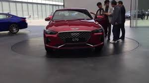 2018 genesis g70 sport. fine 2018 2018 genesis g70 sport walkaround  ready to beat the germans with genesis g70 sport
