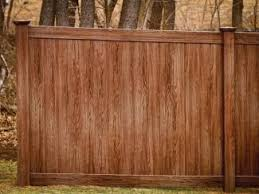 brown vinyl fence panels. Brown Vinyl Fence Panels V