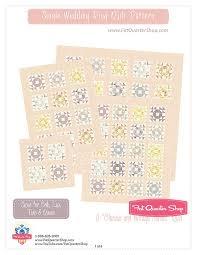 Single Wedding Ring Classic & Vintage Downloadable PDF Quilt ... & Single Wedding Ring Classic & Vintage Downloadable PDF Quilt Pattern Fat  Quarter Shop Adamdwight.com