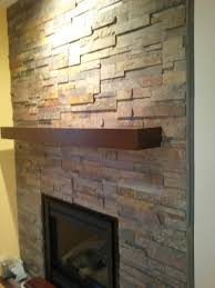 tile fireplace contemporary living room