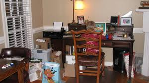 your home office. Before: My Messy Home Office. Notice The Piles Of Clutter In Front Your Office E