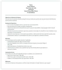 Community Service Form Interesting Community Service Resume Template