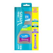 <b>Станок для бритья</b> `<b>GILLETTE` VENUS</b> с 3 сменными кассетами ...