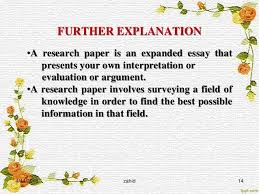 Explaining a Concept Research Paper writing your essay Home