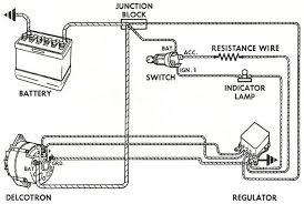 alternator battery wiring diagram