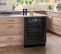 built in wine fridge. Element By Vinotemp Built-in 46 Bottle Dual-Zone Touch Screen Wine Cooler Contemporary Built In Fridge N