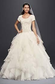 modest wedding dresses gowns david s bridal