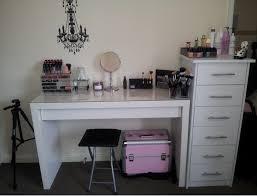 makeup vanity and storage ikea ideas