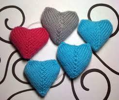 Knitted Heart Pattern Simple Knit Heart Pattern Marthamouse
