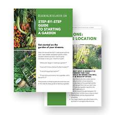 how to start a garden. growing in the garden | free step by guide on how to start a