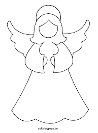 angel-template | Silhouettes | Pinterest | Angel, Craft and ...