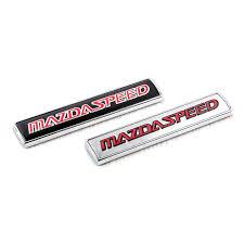 mazdaspeed emblem. car mazdaspeed emblem badge front side trunk lid wing fender decoration sticker for mazda 2 3 5 6 cx3 cx5 cx7 cx9 m