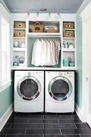 Easy Laundry Room Makeovers Laundry Room Makeover Wood Counters Walmart Tin Totes Pull Out