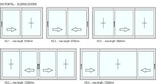 sliding glass door sizes standard nz chambernation me