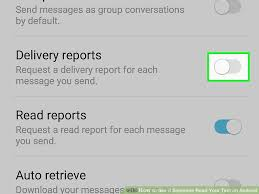Dilivery Report 4 Ways To See If Someone Read Your Text On Android Wikihow