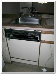 ge under sink dishwasher stainless steel
