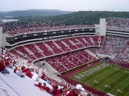 Razorback Football Stadium Seating Chart Donald W Reynolds Razorback Stadium Wikipedia