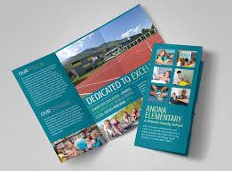 Fold Flyer Elementary School Tri Fold Brochure Template Mycreativeshop