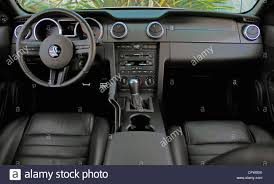 Interior 2007 Ford Shelby GT500 Mustang Cobra Coupe Stock Photo ...