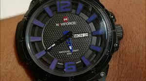 <b>NAVIFORCE Top Brand</b> Military Watches <b>Men</b> Fashion - YouTube