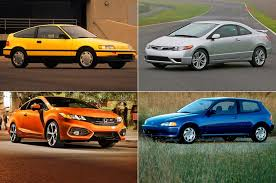 Honda Civic Si Through The Years History Of The Front Drive