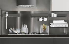 Ronda Design Wall Mounted Shelf Contemporary Aluminum Stainless Steel Magnetika Kitchen By Marcarch Ronda Design