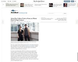 Miami Dade College Web Design Dv In New York Times Dimensions Variable