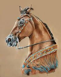 horse drawing in color. Delighful Drawing Itu0027s  With Horse Drawing In Color