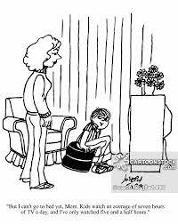 kids watching tv black and white. kids watching tv cartoon 1 of black and white