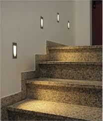 in stair lighting. Finely Contoured LED Wash Light In Stair Lighting