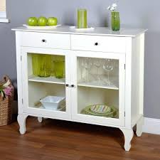 glass front buffet sideboard built in buffet cabinet with grass