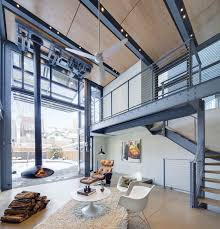 Indoor Outdoor Living photo 6 of 9 in a steelandglass addition with a giant hangar 3865 by guidejewelry.us