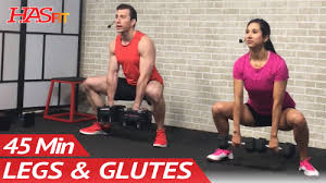 45 min and legs workout for women