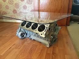 cosworth race v8 engine block coffee
