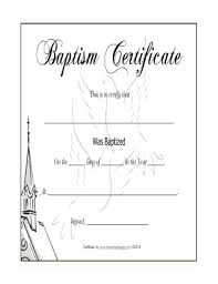 Godparent Certificate Fill Online Printable Fillable Blank