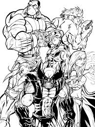 Small Picture Imposing Ideas X Men Coloring Pages Itgod Me Coloring Pages