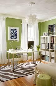 green office interior. copy cat chic room redo spring green home office interior o